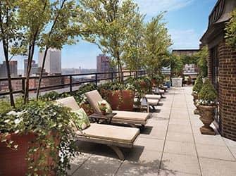 hudson hotel in new york. Black Bedroom Furniture Sets. Home Design Ideas