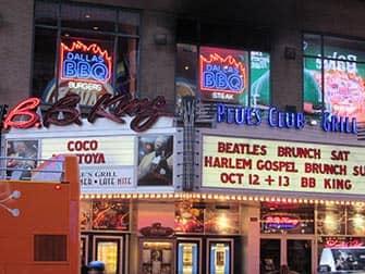 Jazz und Blues in New York - BB King Blues Club