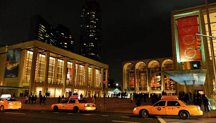 Lincoln Center in New York - Lincoln Center bei Nacht