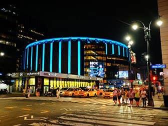 Madison Square Garden in New York - Außenansicht