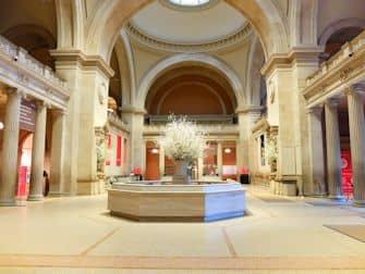Metropolitan Museum in New York - Das leere Met