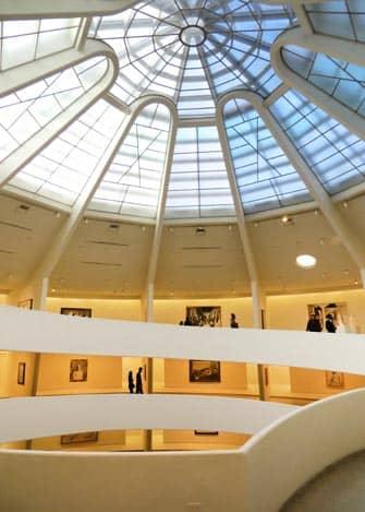 Museum Guggenheim in New York City