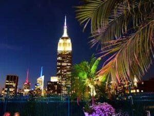 Nachtleben in Midtown New York