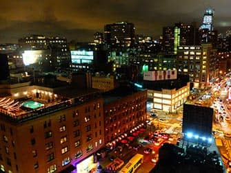 Rooftop Bars in New York - Aussicht vom Gansevoort Hotel