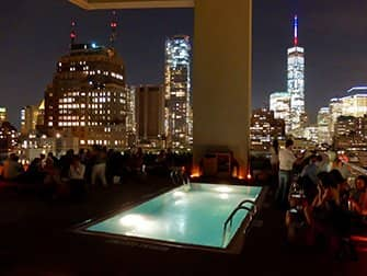 Rooftop Bars in New York - Jimmys Pool