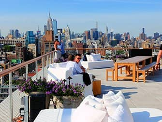 Rooftop Bars in New York - The Roof auf dem PUBLIC