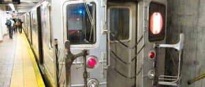 Subway Zug in New York