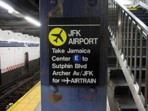 Transfer von Manhattan zum JFK Flughafen
