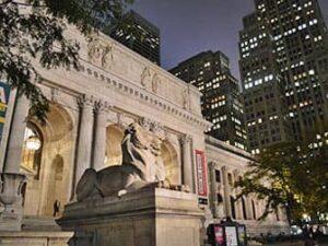 Öffentliche Bibliothek in NYC
