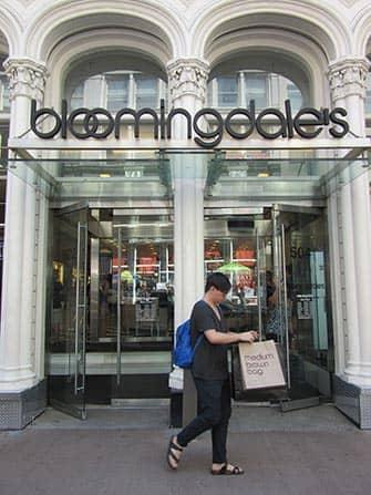 Bloomingdales in NYC Brown Bag