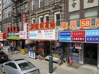 Chinatown in New York - Geschäfte
