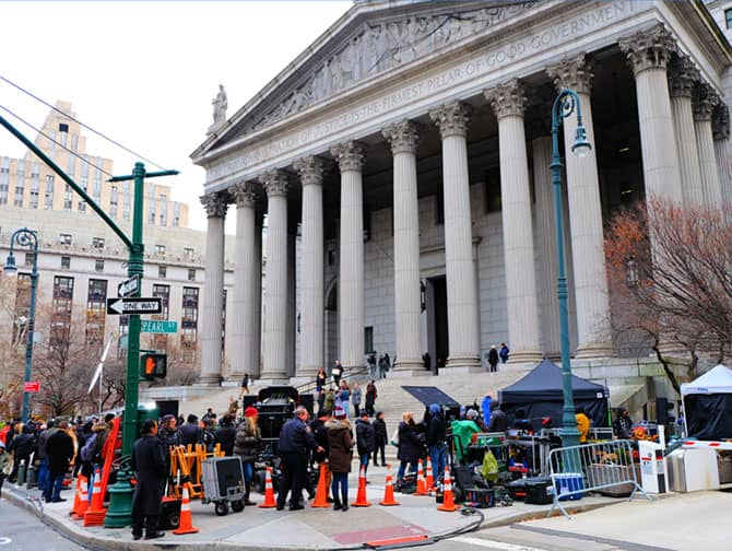 Civic Center in New York - Law and Order