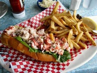 Lobster Roll in Boston - New York Trip