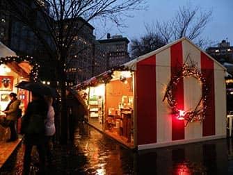Märkte in New York - Union Square Weihnachtsmarkt