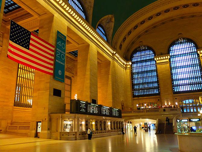 Midtown Manhattan in New York - Grand Central