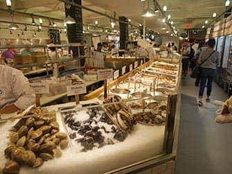 New York Märkte - Fisch und Meeresfrüchte auf dem Chelsea Market