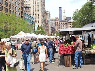 New York Märkte - Union Square Greenmarket