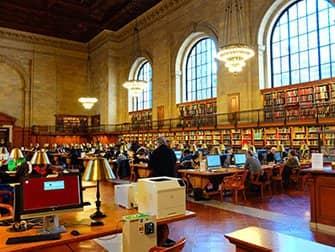 Public Library New York - Innenansicht