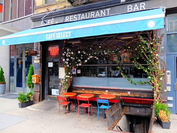 SoHo in New York - Cafe Select