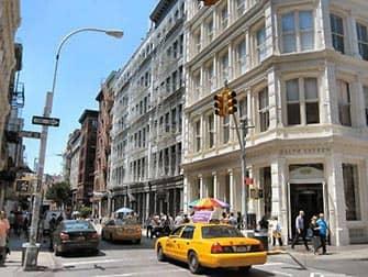 SoHo in New York City