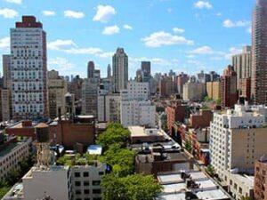 Upper East Side in New York