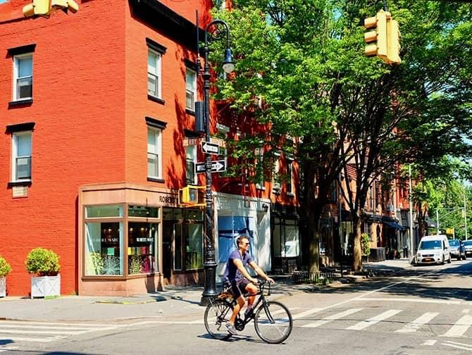 West Village New York - Perry Street und Bleecker Street