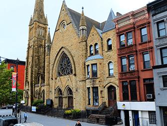 Harlem in New York - Kirche