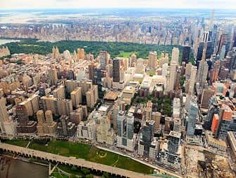 New York Helikopter-Rundflug - Central Park