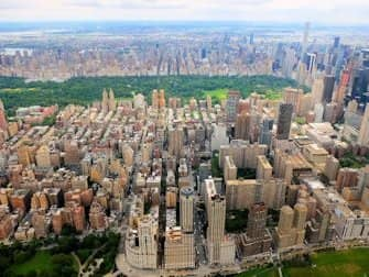 New York Helikopterrouten - Central Park