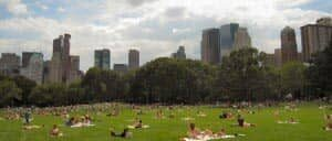 New Yorker im Central Park