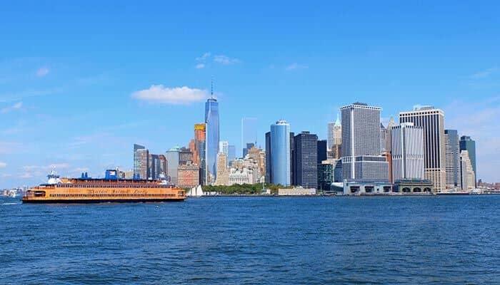 Staten Island Fähre - Skyline