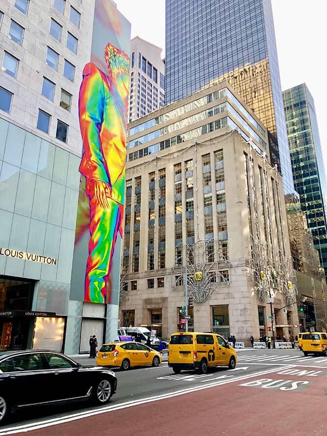 Shoppen in der Fifth Avenue - Tiffany's