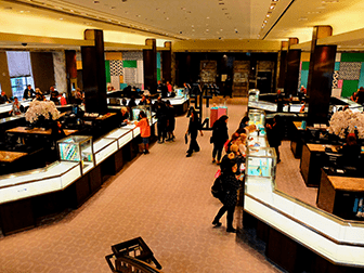 Tiffany & Co. New York - Innen