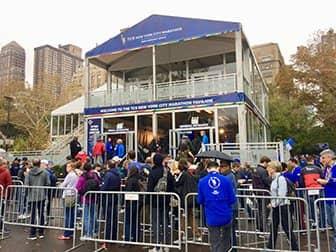 New York Marathon - Pavillon