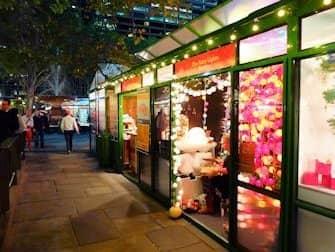 Weihnachtsmärkte in New York - Bryant Park Weihnachtsmarkt