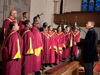 Chor Gospel in Harlem