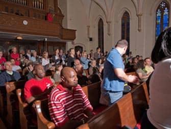 Kirche mit Gospeltour in Harlem