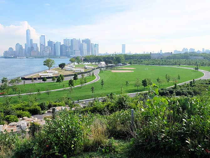 Labor Day in New York - Governors Island