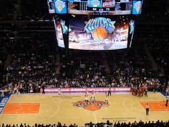 New York Knicks Spiel im Madison Square Garden