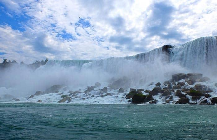 New York zu den Niagarafällen Zweitägiger Ausflug - Horseshoe Falls