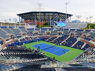 US Open Tennis Tickets - Arthur Ashe Stadium vom Grandstand aus