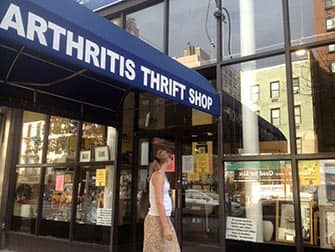 Upper East Side Shopping in NYC - Arthritis Thrift Shop