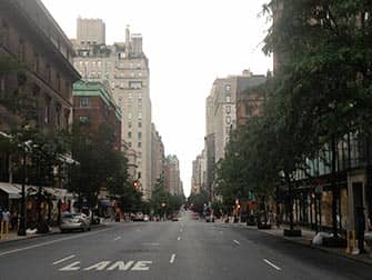Upper East Side Shopping in NYC - Straßenbild