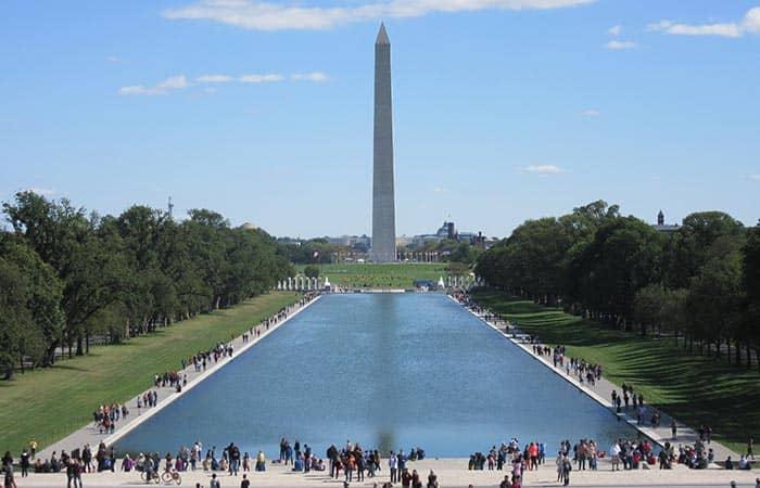 Washington DC Tagesausflug - Denkmal