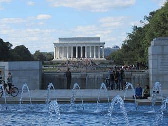Washington DC Tagesausflug - Gedenkstätte Lincoln Memorial