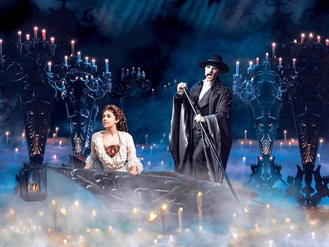 The Phantom of the Opera am Broadway Tickets - Im Boot
