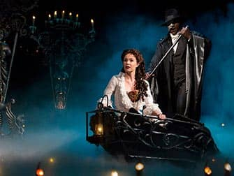 The Phantom of the Opera am Broadway NYC