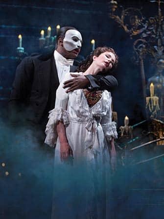 The Phantom of the Opera am Broadway New York City