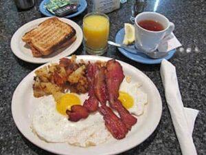 Frühstück in New York