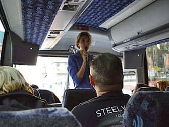 New York TV- und Kinodrehorte Tour - Reiseleiter im Bus